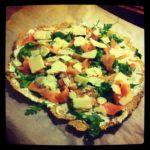 Opskrift: Sund pizza med laks og ruccola