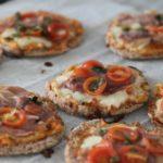 Opskrift: Sund minipizza