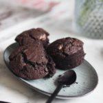Opskrift: Svampede veganske chokolademuffins